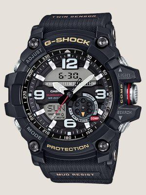 đồng hồ đeo tay nam g-shock gg-1000-1a model mới, chính hãng giá rẻ uy tín tại hcm, có chức năng la bàn nhiệt kế cấu trúc chống bùn cực tốt