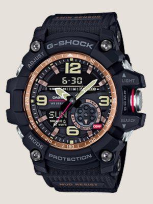 đồng hồ đeo tay nam g-shock gg-1000rg-1a model mới, chính hãng giá rẻ uy tín tại hcm, có chức năng la bàn nhiệt kế cấu trúc chống bùn cực tốt, giá g shock rẻ