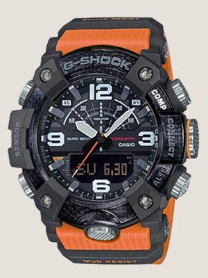 đồng hồ đeo tay g shock gg-b100-1a9dr_master giá rẻ chính hãng, có cấu trúc bảo vệ lõi carbon siêu nhẹ, có bộ tứ cảm biến la bàn nhiệt kế cao độ kế và đếm bước chân, có kết nối bluetooth với điện thoại